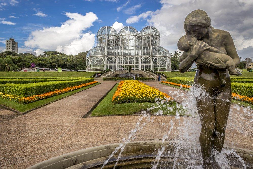 Prepare a câmera, porque o Jardim Botânico de Curitiba rende lindas fotos   Crédito editorial: Marcio Jose Bastos Silva/Shutterstock.com