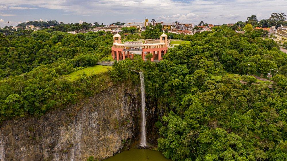 Parque Tanguá, tido como o mais bonito de Curitiba   Crédito: Shutterstock