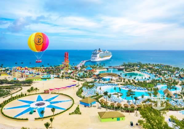 Perfect Day at CocoCay, ilha privativa da Royal no Caribe
